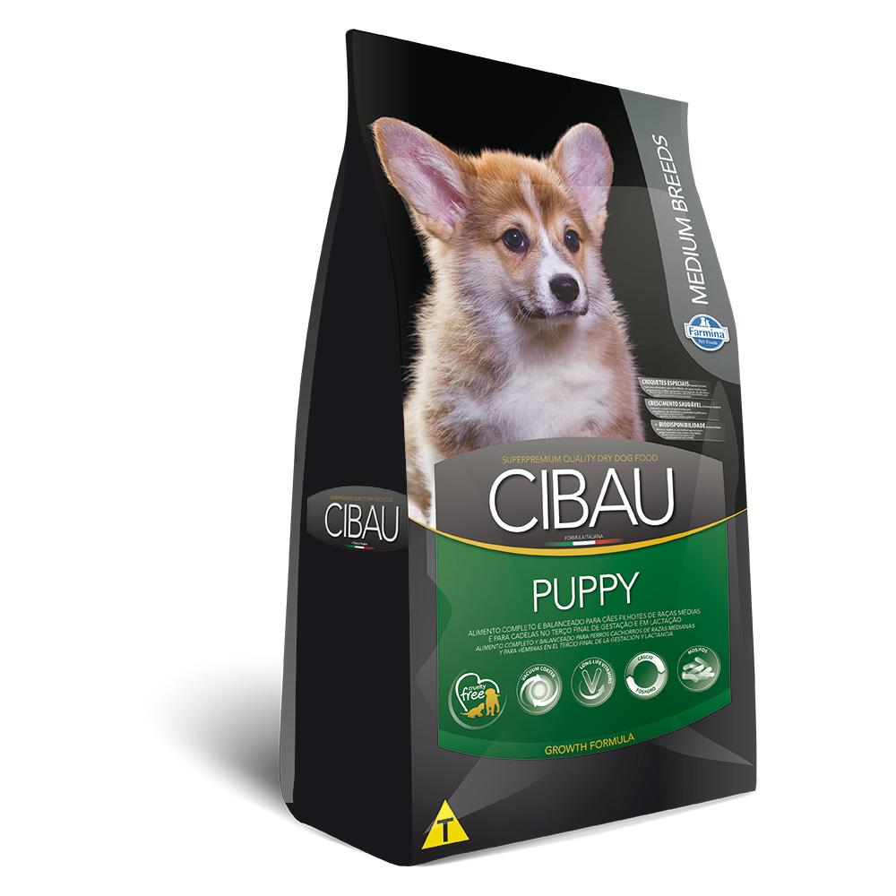 Ração Cibau Medium Breeds para Cães Filhotes Frango