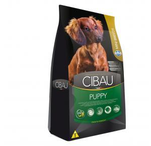 Ração Cibau para Cães Filhotes Raças Pequenas Frango