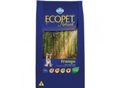 Ração Ecopet para Cães Adultos Raças Pequenas sabor Frango 15kg
