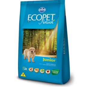 Ração Ecopet para Cães Filhotes  15kg
