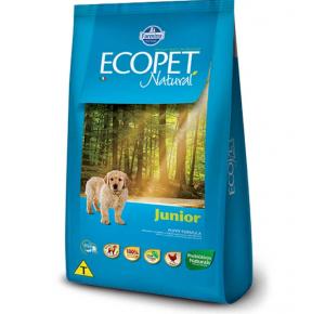 Ração Ecopet para Cães Filhotes  3kg
