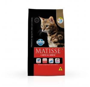 Ração Farmina Matisse Carne e Arroz para Gatos Adultos 7.5kg