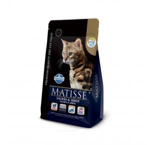 Ração Farmina Matisse Salmão e Arroz para Gatos Adultos 7.5kg
