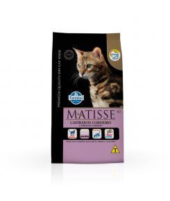 Ração Farmina Matisse para Gatos Adultos Castrados Sabor Cordeiro