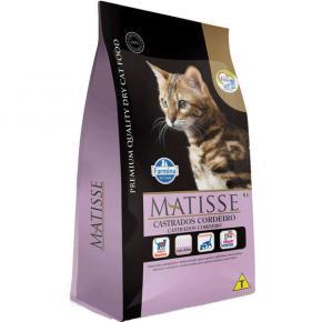 Ração Farmina Matisse para Gatos Adultos Castrados Sabor Cordeiro 2kg