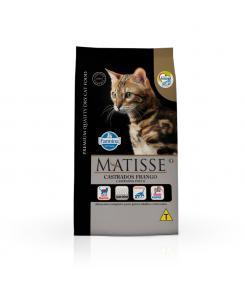 Ração Farmina Matisse para Gatos Adultos Castrados Sabor Frango