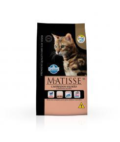 Ração Farmina Matisse para Gatos Adultos Castrados Sabor Salmão