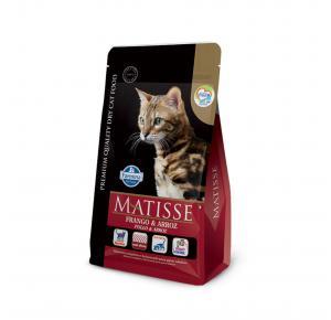 Ração Farmina Matisse para Gatos Adultos Sabor Frango e Arroz 7.5kg