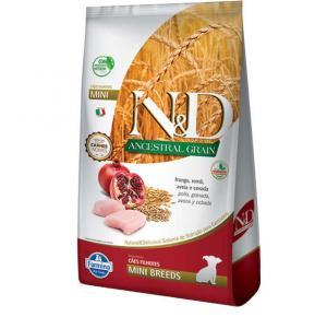 Ração Farmina N&D Ancestral Grain Frango Cães Filhotes Raças Pequenas 2.5kg