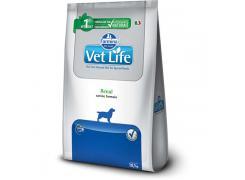 Ração Farmina Vet Life Natural Renal para Cães Adultos com Insuficiência Renal 10kg