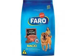 Ração Faro Macio Cães Filhotes e Adultos Carne 900g
