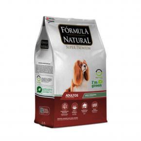 Ração Fórmula Natural Cães Adultos Portes Mini e Pequeno 15kg