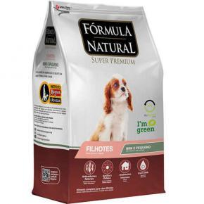 Ração Fórmula Natural para Cães Filhotes Raças Minis e Pequenas 7kg