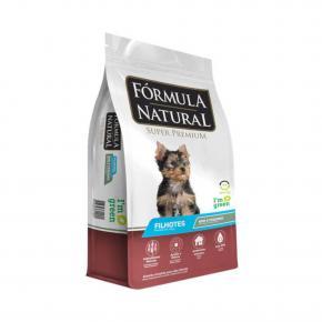 Ração Fórmula Natural para Cães Filhotes Raças Minis e Pequenas 15kg
