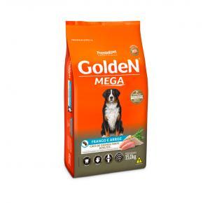 Ração Golden Cães Filhotes Raças Grandes Sabor Frango e Arroz - 15kg