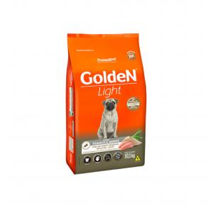 Ração Golden Fórmula Mini Bits Light para Cães Adultos de Pequeno Porte Sabor Frango e Arroz 10.1kg