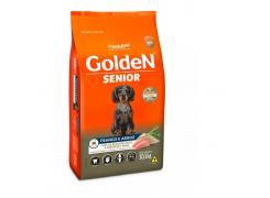 Ração Golden Fórmula Mini Bits Senior para Cães Adultos de Pequeno Porte Sabor Frango e Arroz 10.1kg