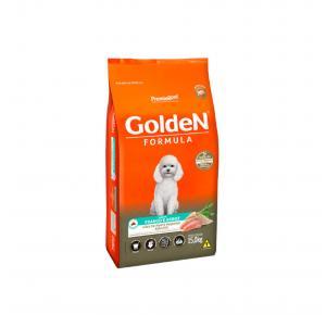 Ração Golden Fórmula para Cães Adultos Raças Pequenas Frango e Arroz 10.1kg