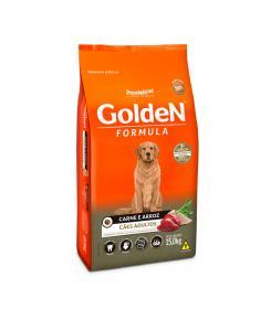 Ração Golden Fórmula para Cães Adultos Sabor Carne e Arroz