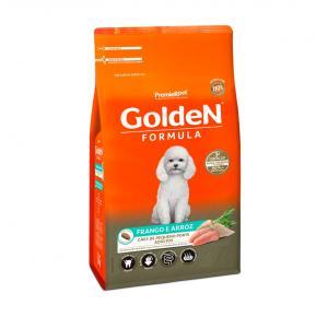 Ração Golden Fórmula para Cães Adultos de Pequeno Porte Sabor Frango e Arroz 10.1kg