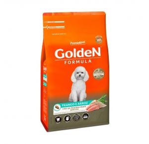 Ração Golden Fórmula para Cães Adultos de Pequeno Porte Sabor Frango e Arroz 15kg