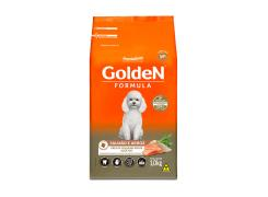 Ração Golden Fórmula para Cães Adultos de Pequeno Porte Sabor Salmão e Arroz 1kg