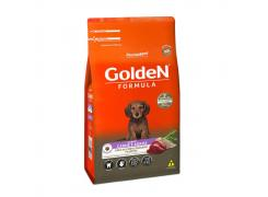 Ração Golden Fórmula para Cães Filhotes Raças Pequenas Carne e Arroz 10.1kg