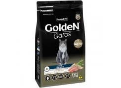 Ração Golden Gatos Adultos Castrados Sênior Frango - 3 KG
