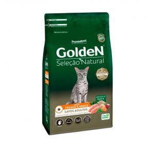 Ração Golden Seleção Natural para Gatos Adultos Sabor Frango 10.1kg
