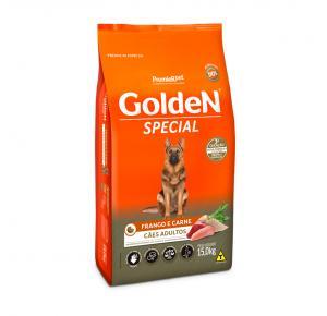 Ração Golden Special Sabor Frango e Carne para Cães Adultos