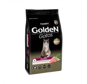 Ração Golden para Gatos Adultos Castrados Sabor Frango 1kg