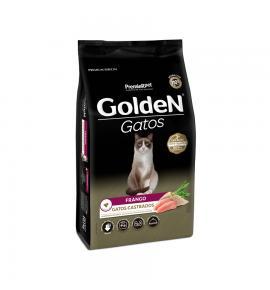 Ração Golden para Gatos Adultos Castrados Sabor Frango 10.1kg