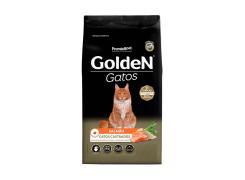 Ração Golden para Gatos Adultos Castrados Sabor Salmão 3kg
