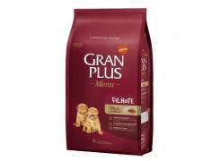 Ração GranPlus Filhotes para Cães Sabor Carne e Arroz 15kg