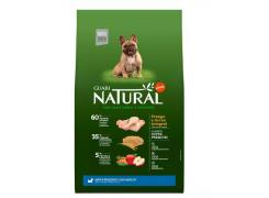 Ração Guabi Natural para Cães Adultos de Raças Pequenas sabor Frango & Arroz Integral 10.1kg