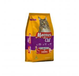Ração Magnus Cat Mix com Nuggets 10.1Kg Adimax