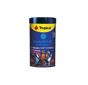 Ração Marine Power Probiotic Soft Formula Size L 130g Chips Tropical