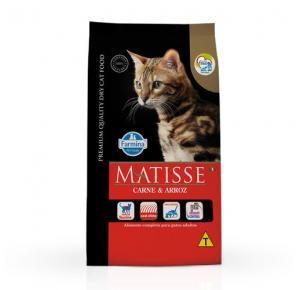 Ração Matisse Carne e Arroz Gatos Adultos 2kg