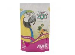 Ração Megazoo Araras Frutas e Legumes - 600g