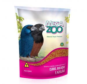 Ração Megazoo para Pássaros Curió e Bicudo 350g