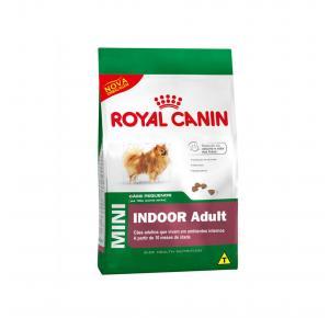 Ração Mini Indoor Cães Adultos Royal Canin 7.5kg
