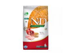 Ração Farmina N&D Ancestral Grain para Cães Adultos de Raças Médias Sabor Cordeiro e Blueberry 2.5kg