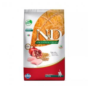 Ração N&D Ancestral Grain Frango Gatos Filhotes 1,5kg