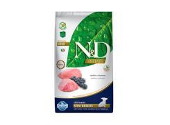 Ração N&D Prime Cordeiro e Blueberry Cães Filhotes Raças Pequenas 2.5kg