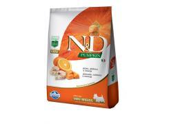 Ração N&D Pumpkin Peixe para Cães Adultos de Raças Pequenas 2,5kg