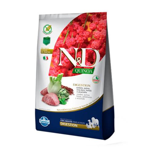 Ração N&D Quinoa Digestion Cordeiro para Cães Adultos  2,5kg