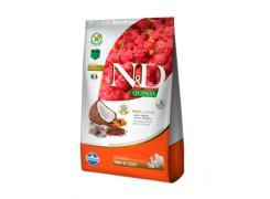 Ração N&D Quinoa Skin & Coat Peixe para Cães Adultos 2,5kg