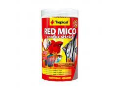 Ração Para Peixes Tropical Red Mico Colour Sticks 32g