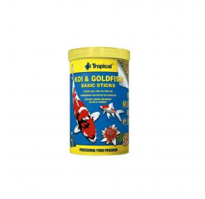Ração Peixes Koi Goldfish Basic Sticks 9g Tropical