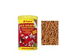 Ração Peixes Koi & Goldfish Colour Sticks-bag 800g Tropical
